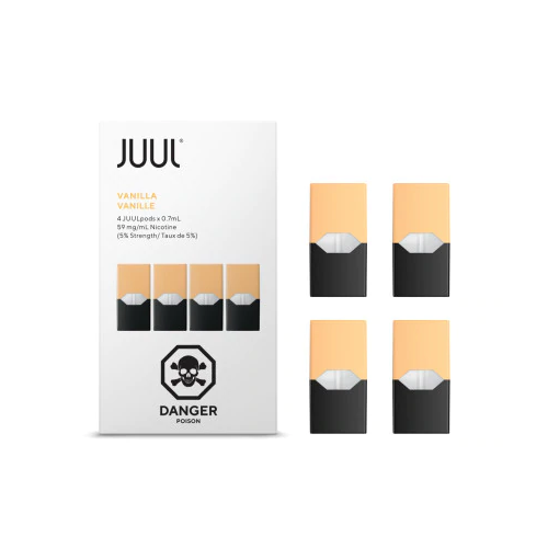 JUUL Pod Vanilla 4 Pod Pack