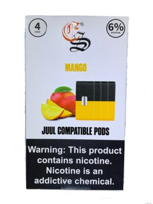 Juul Compatible Pods Mango by Eonsmoke 6%