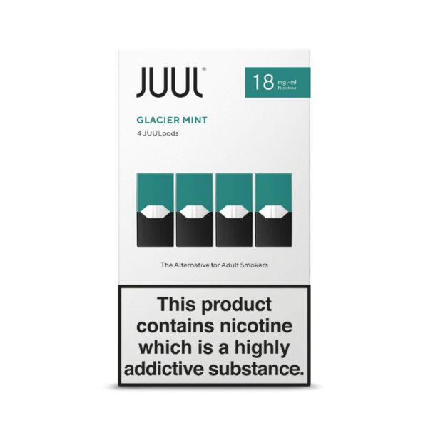 JUUL Glacier Mint Refill Pods